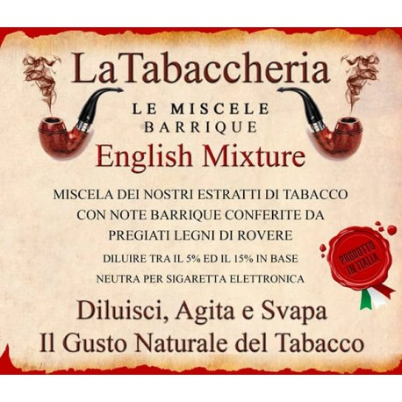 English Mixture Aroma Concentrato 10ml