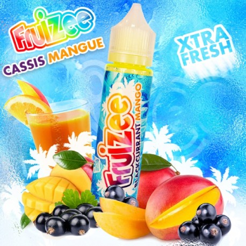 Fruizee Ribes nero e mango shot 20ml