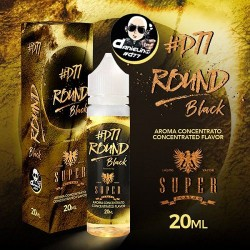 Black Round Shot 20ml